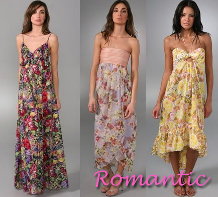 maxi dress- romantic
