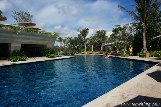 The Cabana Pool at the Rimba